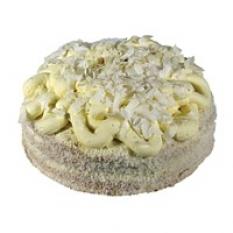 Ovocný kokosový dort