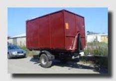 Návěs nákladní traktorový EDK 6500 - SCN 53