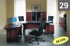 Kancelářský nábytek Maya mahagon