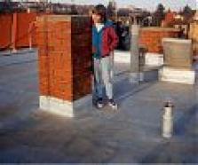PUR pěny pro hydroizolaci a tepelnou izolaci střech