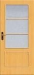 Interiérové dýhované dveře Linie