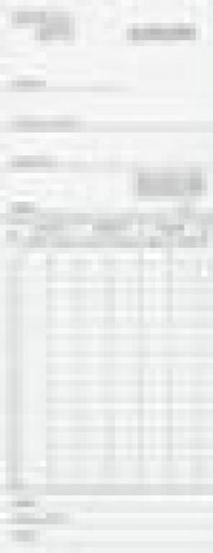Dochádzkový systém - Papierová karta