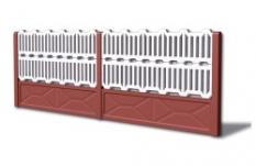 Betónové ploty - Plot č. 5