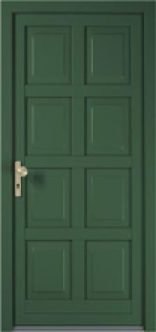 Plastové dveře Rustico