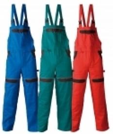 Monterkové nohavice Cooltrend s náprsenkou