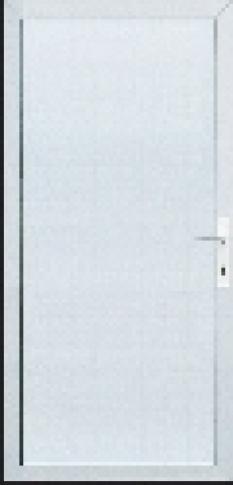 Vchodové dvere s výplňami Gava plast – Gavaline 301