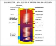 Bojler OKC NTRR 200/2 SOL