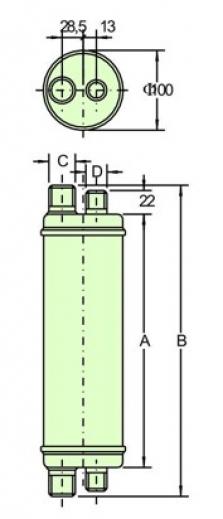 Výmenník špirálový KN-3