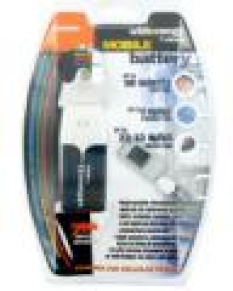 4World Náhradná nabíjačka pre GSM telefóny, na 2 x AA baterky