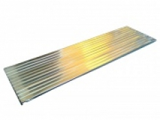 Plechová výplň police D 300x1000 mm