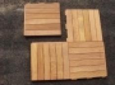 Dřevěná dlažba