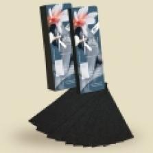 Depilačné papieriky 100 ks, black