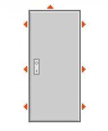 Dveře P3/6 Out