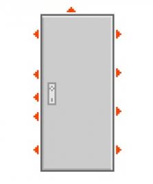 Dveře P4 Out