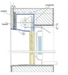 Rolety -  Predokenný systém s priznanou krabicou Alupuc