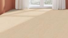 Podlahy z prírodného linolea - Creme