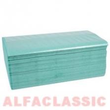 Papír. ručník zelené skládaný