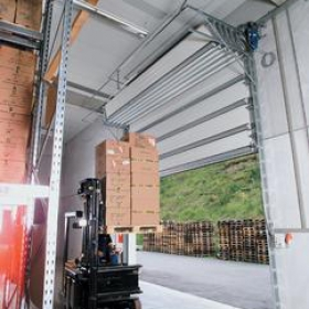 Sekční vrata ISO-S Compact