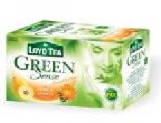 Zelený čaj s príchuťou opuncia