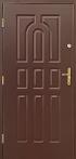 Vchodové dveře - Model 9 kazet