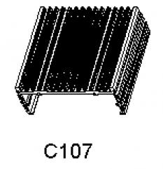 Hliníkové chladiče C 107