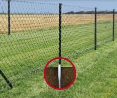 Zemní vruty pro ploty, vruty do země pro ploty