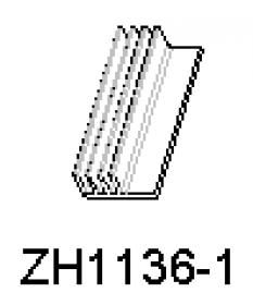 Hliníkové chladiče ZH1136-1