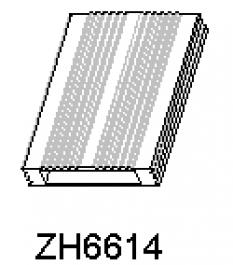 Hliníkové chladiče ZH6614
