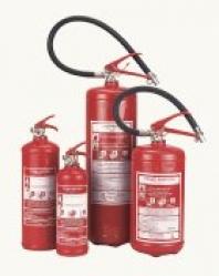 Hasicí přístroje , požární  hydranty a hadice
