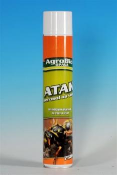 Atak - aerosol na vosy - 750 ml