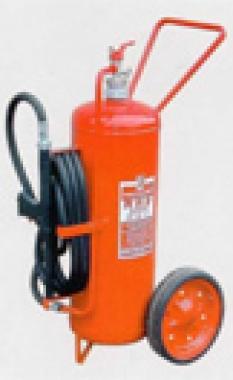 Pojazdné práškové hasiace prístroje