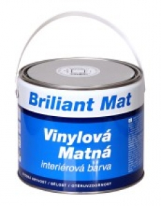 vinylová matná interiérová barva BRILIANT MAT V 2091
