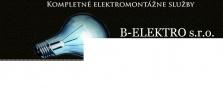 Klasické elektroinštalácie - nové aj rekonštrukcie