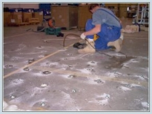 Oprava podláh priemyselných hál