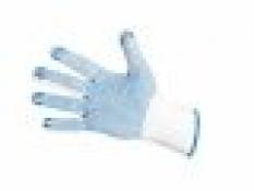 Pletené povrstvené rukavice