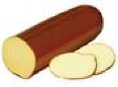 Uzený tavený salámový sýr 47%