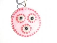 Perleťový náhrdelník dámský růžový