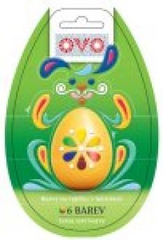 Barva na velikonoční vajíčka
