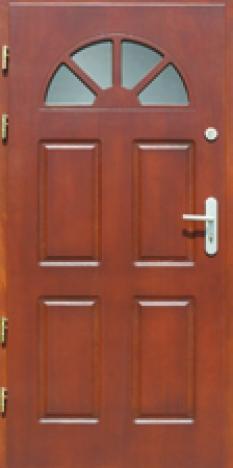 Vchodové dvere z masívu Erkado P16