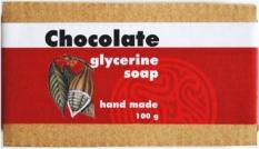 Glycerínové mýdlo čokoláda