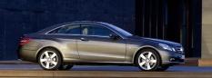 Vozy Mercedes Třída E Coupé