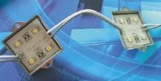 4- diodové SMD 3528 moduly CREE v hliníkovém pouzdře 0,48W