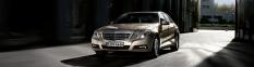 Osobné limuzíny Mercedes-Benz trieda E