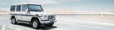 Osobné offroady Mercedes-Benz triedy G