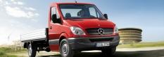 Úžitkové vozidlá Mercedes-Benz Sprinter - valník