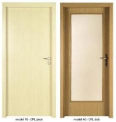 Vnútorné dvere - Povrchová úprava laminát Nora