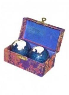 Meditační koule modré