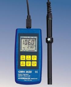 Priemyselné merania, koncentrácia kyslíku - GMH 3610