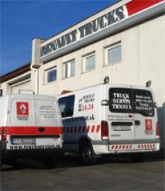 Servis nákladných a úžitkových vozidiel Renault Trucks
