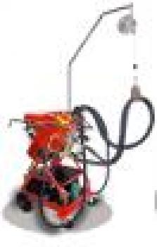 Bodové zváračky pre autodielne - Inventorová univerzálna bodovačka 25 kVA s vodným chladením typu 3650